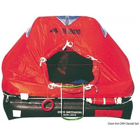 Radeaux professionnels autogonflables modèle 'Med-Sea'