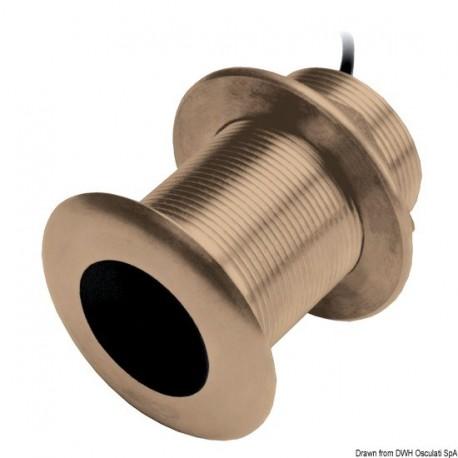GARMIN thru-hull CHIRP brass transducers