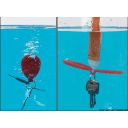 Porte-clés flottant breveté