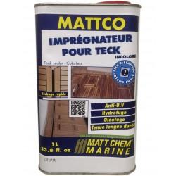 MATT CHEM - MATTCO INCOLORE - Imprégnateur pour teck incolore (formulation en phase aqueuse)