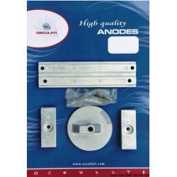 Kit anodes pour Mercury