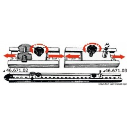 Système de rails pour capotes