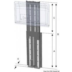 Système de levage électrique vertical pour TV