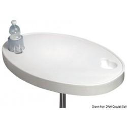 Table en ABS blanc