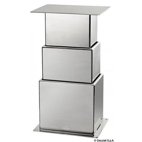 Pied de table électrique SQUARE à deux ou trois stades