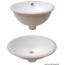 Eviers ovales en céramique...