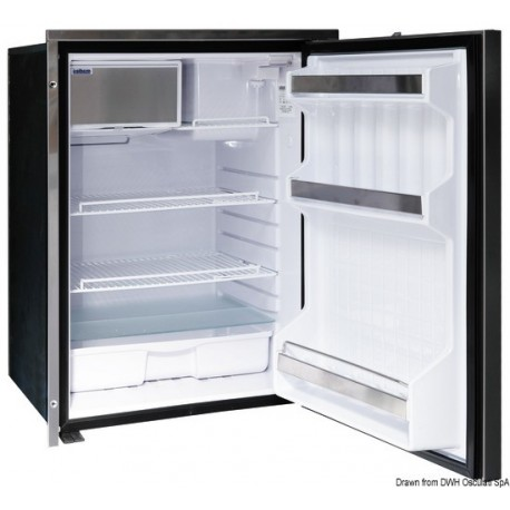 Réfrigérateur ISOTHERM frontal Inox - clean touch