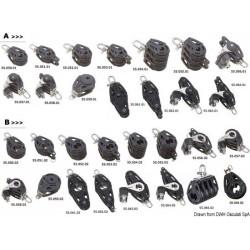 Poulies sur billes en matériau composite VIADANA