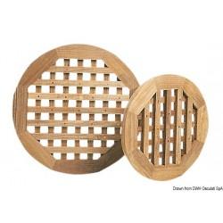 Caillebotis pour douches ou salles de bain, ronds ARC - épaisseur 22 mm