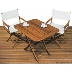 Table pliante en teck véritable ARC