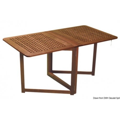 Table pliante avec pieds à compas ARC