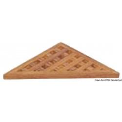 Caillebotis triangulaire pour accessoires de douche ARC
