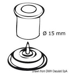 Fiche pour positionner boutons pression Q-SNAP