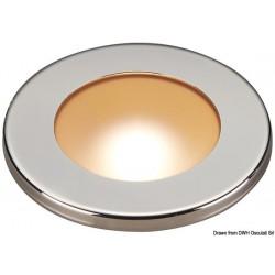 Plafonnier LED à encastrement réduit Polis