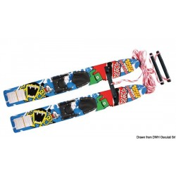 Skis nautiques AIRHEAD Monsta Splash Trainer Skis en bois traité