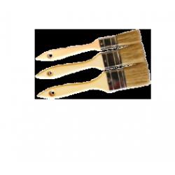 Pinceaux manche long (Lot de 3)