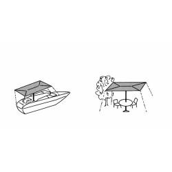 Support pour fixer le taud (Pied pour FixTop)