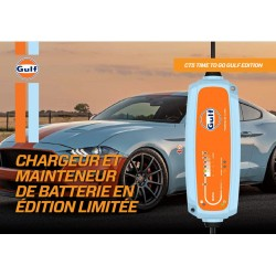 Chargeur de batterie CTEK Time To Go GULF - 12V / 5A