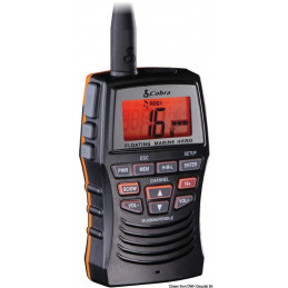COBRA MARINE MR HH150FLTE, VHF portable