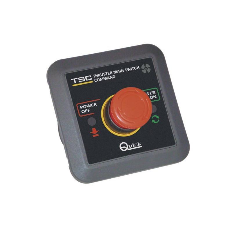 Commande coupe-circuit pour boitier TMS 12/24V