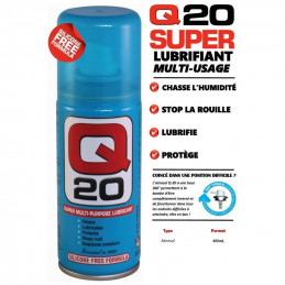 Q20 LUBRIFIANT MULTI USAGES 400ML