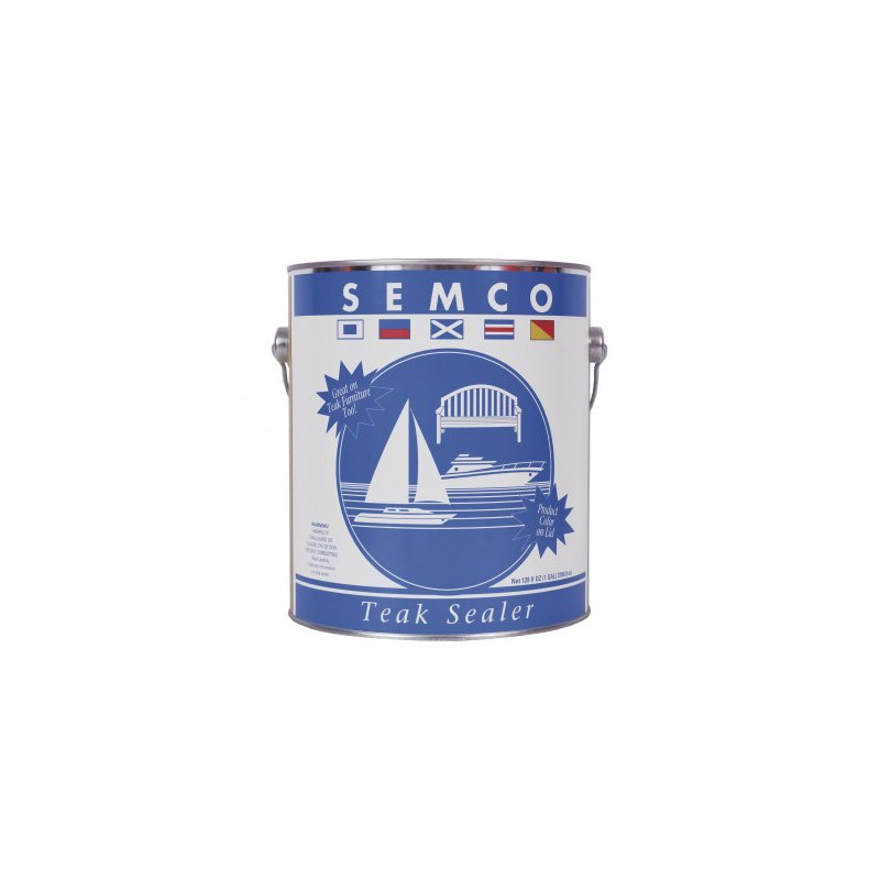 Semco Teak Sealer Honey 3.78L