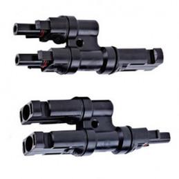 Multiple connecteur  (paire) MC4-Y vers 1x M-2F / 1xF-2M