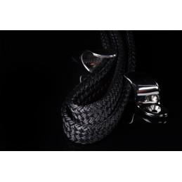 Corde Flatline II polyester noir