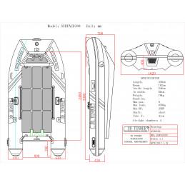 SURFACE RIB Aluminium 330