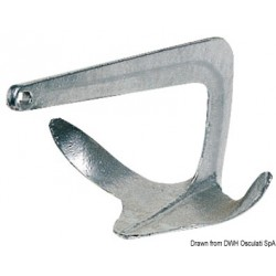 Ancres Trefoil® en acier moulé et galvanisé à chaud