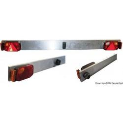 Barre en aluminium avec feux