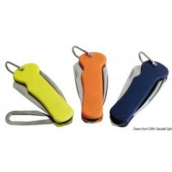 Couteau en inox avec poignée en plastique pour voile