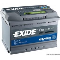 Batteries EXIDE Premium pour démarrage et équipements de bord