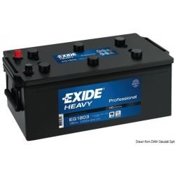Batteries EXIDE Professional pour démarrage et équipements de bord