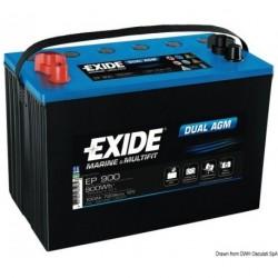 Batteries EXIDE Agm pour équipements et démarrage