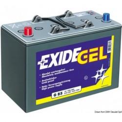 Batteries EXIDE Gel pour équipements et démarrage