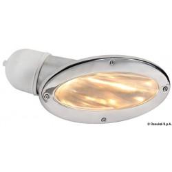 Paire de spots à encastrer en paroi Compact avec ampoule halogène