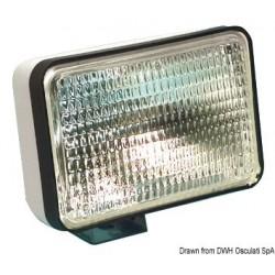 Projecteur imperméable avec ampoule halogène étanche Sealed Beam