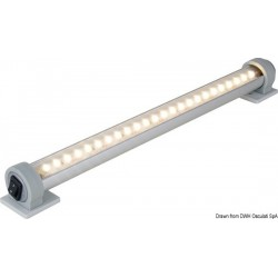 Barrette lumineuse LED BATSYSTEM U-Pro-System avec interrupteur incorporé