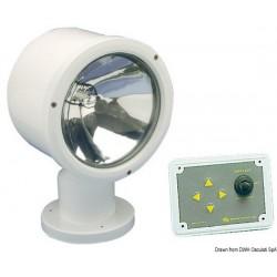 Projecteur télécommandé Mega avec ampoule étanche Sealed Beam de 7´