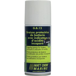 MATT CHEM - G.B.12 - Graisse protectrice de batterie avec indicateur incorporé