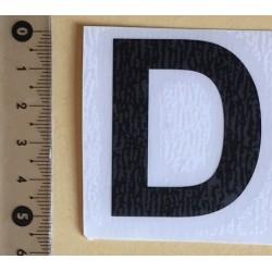 Adhésif lettres et chiffres