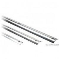 Profilés défenses en inox et bases PVC